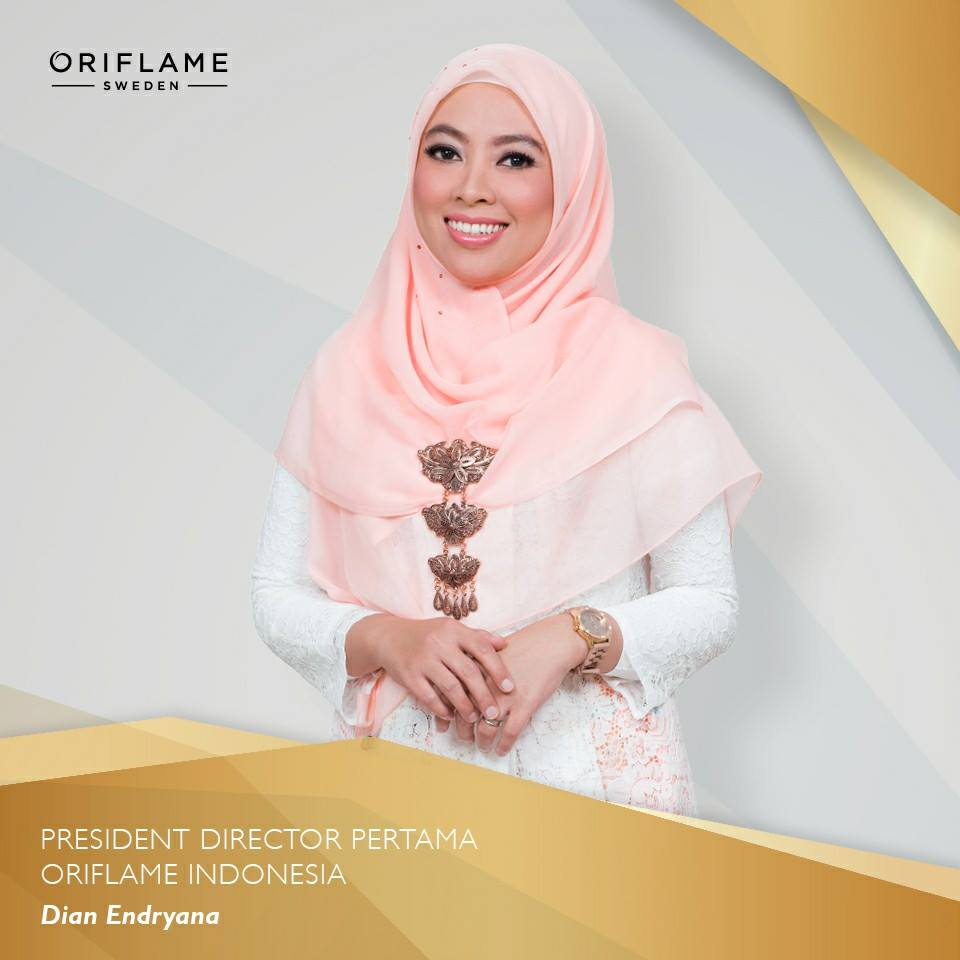 presiden director oriflame indonesia
